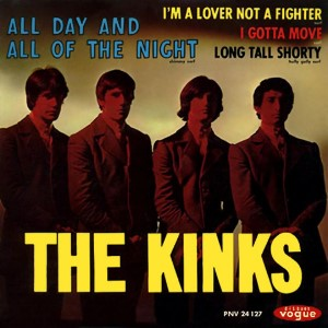 The Kinks - All Day And All Of The Night Single (1964)