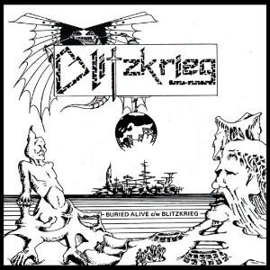 Blitzkrieg - Buried Alive Single (1981)