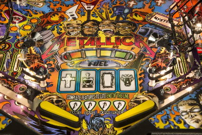 Metallica Pinball Cover-Art