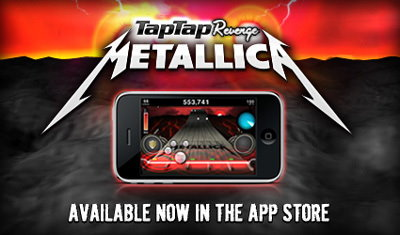 Tap Tap Revenge: Metallica Cover-Art