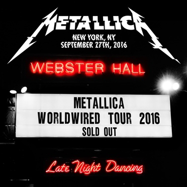 Live At Webster Hall, New York, NY - September 27th, 2016