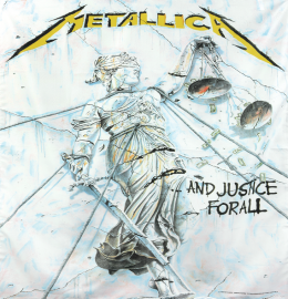 Metallica ...And Justice For All Flagge Standard