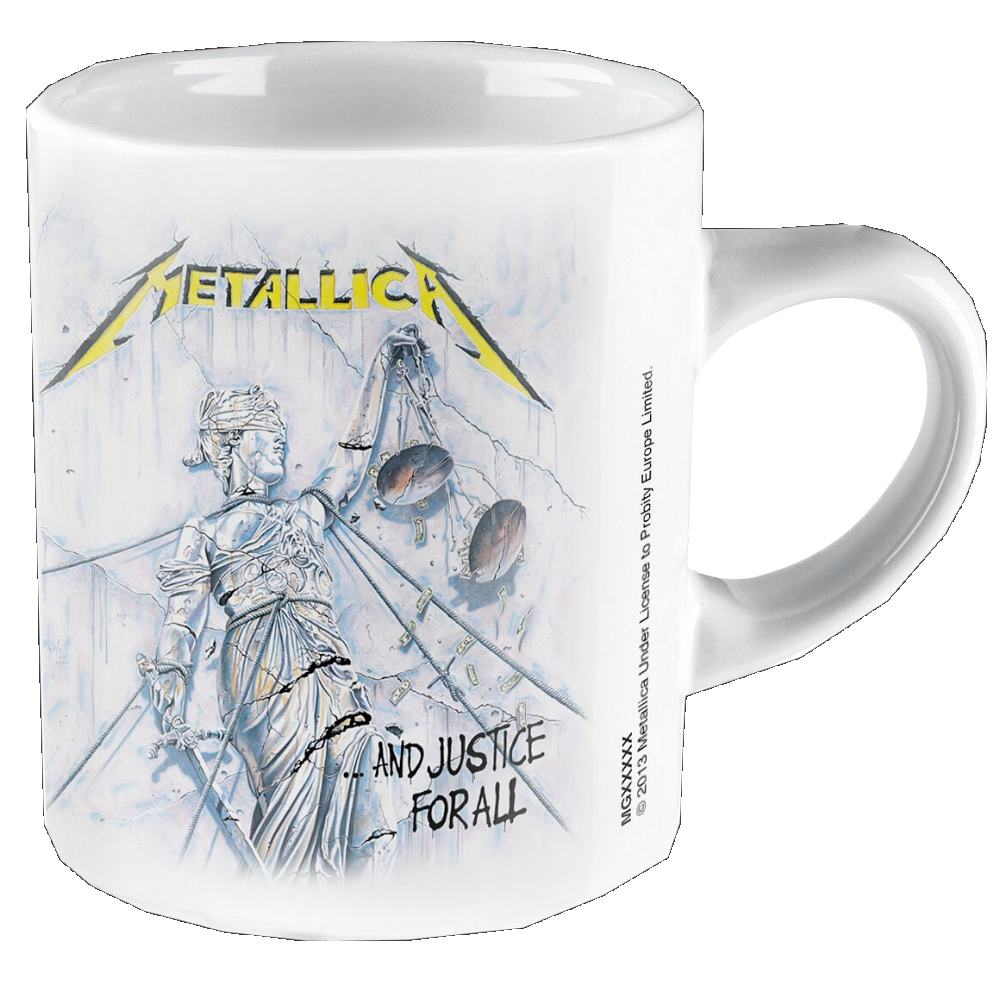 Metallica ... and justice for all Tasse Standard