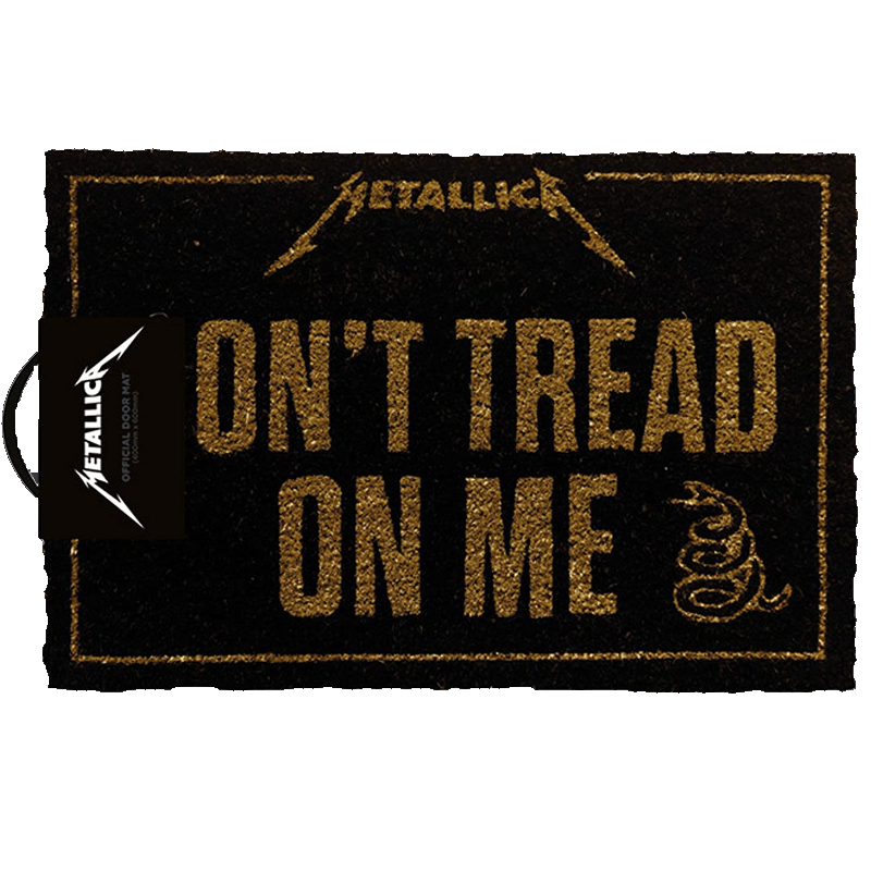 Metallica Don t Tread On Me Fussmatte Standard