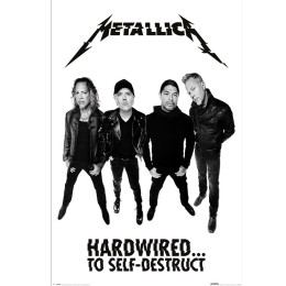 Metallica Hardwired...to self-destruct (Band) Poster Standard