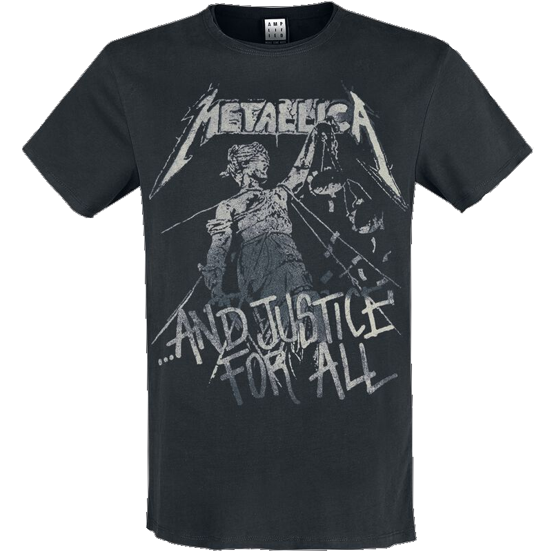 Metallica Amplified Collection - And Justice For All  T-Shirt  schwarz