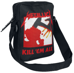 Metallica Kill  Em All Umh?ngetasche schwarz