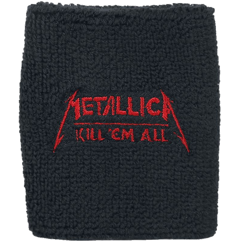 Metallica Kill  Em All Wristband schwarz