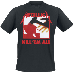 Metallica Kill  Em All T-Shirt schwarz