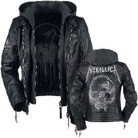 Metallica EMP Signature Collection Girl-Lederjacke schwarz