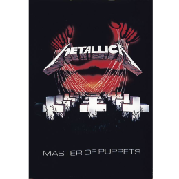 Metallica Master Of Puppets Flagge Standard