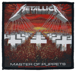 Metallica Master of puppets Patch Standard