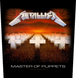 Metallica Master Of Puppets Backpatch Standard