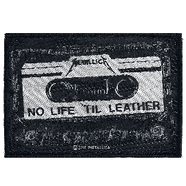 Metallica No Life Til Leather Patch Mehrfarbig