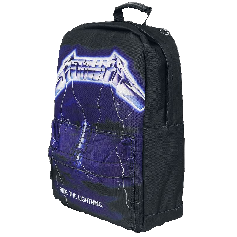 Metallica Ride The Lighting Rucksack schwarz