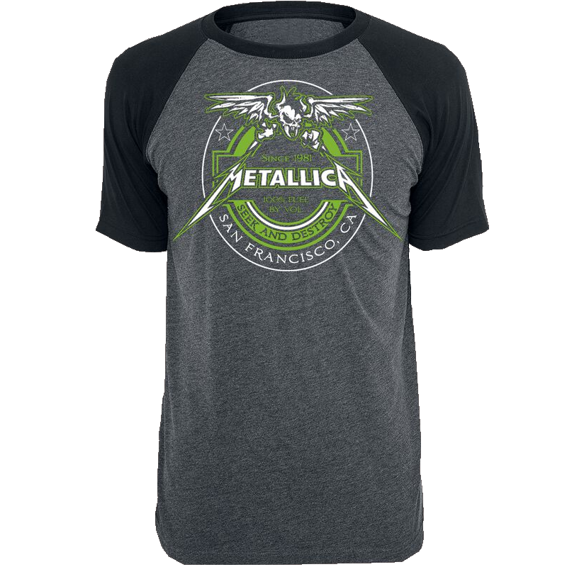 Metallica Fuel T-Shirt charcoal/schwarz