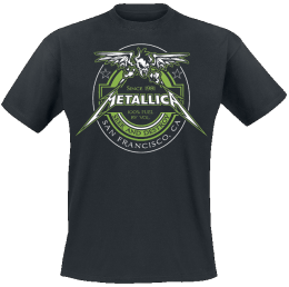 Metallica 100% Fuel - Seek And Destroy T-Shirt schwarz