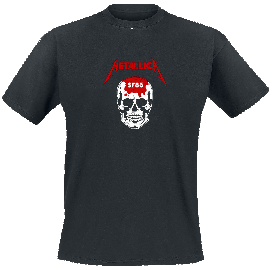 Metallica Kill  Em All - Skull T-Shirt schwarz