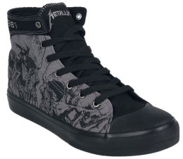 Metallica EMP Signature Collection Sneaker grau/schwarz
