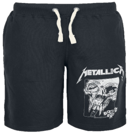 Metallica Damage Inc. Sweat-Shorts schwarz