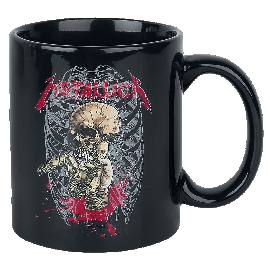 Metallica Alien Birth Tasse schwarz