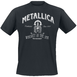 Metallica Whiskey In the Jar T-Shirt schwarz