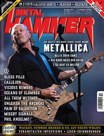 Metal Hammer - September Ausgabe 2020