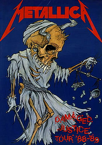 Metallica Tourposter 1989-09-23 - Irvine, CA