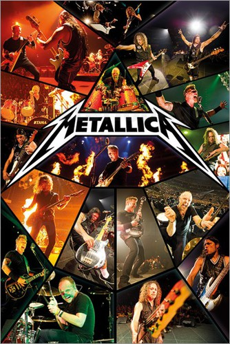 Metallica Tourposter 2012-05-25 - Lisbon