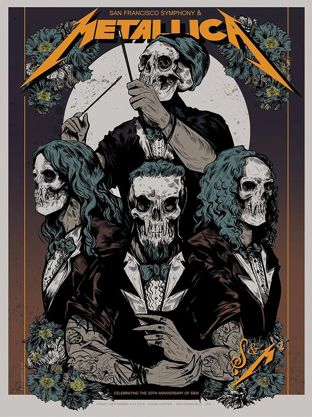 Metallica Tourposter 2019-09-06 - San Francisco, CA